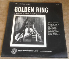 HOWIE MITCHELL*GEORGE & GERRY ARMSTRONG golden ring 1964 US FOLK LEGACY MONO LP