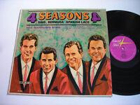 4 Seasons sing Bermuda & Spanish Lace 1964 Mono LP VG++