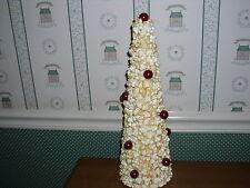 "K&K Interiors 15"" Popcorn & Cranberry Tree-New"