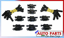 8 IGNITION COILS + IGNITION WIRES SET SILVERADO EXPRESS TAHOE 4.8L 5.3 6.0 6.2L