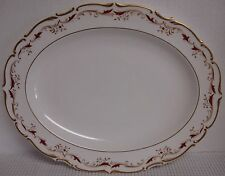 """Royal Doulton STRASBOURG H.4958 13-5/8"""" Oval Serving Platter - BEST!"""