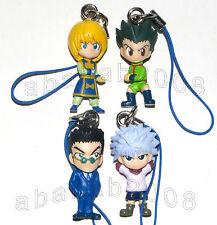 Bandai Hunter X Hunter strap figure gashapon (full set of 4 strap figures)