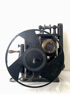 Cinema Projecteur Pathe freres Continsouza Projector 35mm Rare