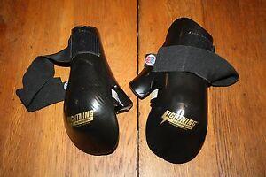 #8181101 ProForce Lightning black Sparring Gloves / Punches Sz Child Large
