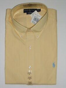 POLO RALPH LAUREN  BUTTON DOWN CLASSIC FIT DRESS SHIRT SIZE - XL