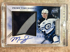 11-12 Panini Time Rookie Prime Patch Auto Prime #4 MARK SCHEIFELE Patch /5
