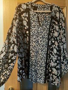 M&Co blouse size 26