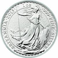 2015 British 1 oz Silver Britannia Bullion Coin