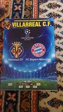 Programm FC Villareal  - FC Bayern München 14/09/2011 Campions League