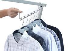 Ohuhu Metal Wonder Magic Clothes Closet Hangers Clothing Organizer-set of 6