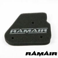 RAMAIR High Flow Performance Panel Air Filter Race Foam replacement MBK Nitro 50