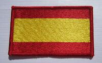 Spanien Spain Flagge Aufnäher Patch 5 x 8 cm NEU (A54v)