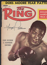 Floyd Patterson Autographed January 1956 The Ring Magazine Cover SGC Authentic