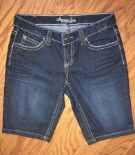 Women American Rag Blue Jean Bermuda Style Shorts Size 3 NWOT Denim