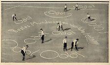 ODOL (auf dem Spielfeld) Historische Reklame von 1903
