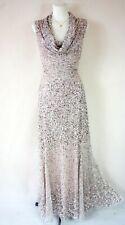 PHASE EIGHT BNWOT 'Greta' Silver Pink Sequin Wedding Evening Dress 14