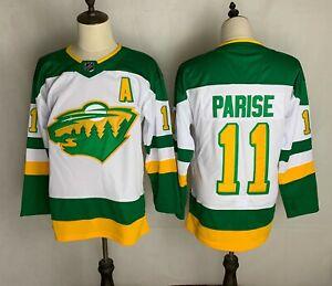 Zach Parise #11 Minnesota Wild 2021 White Reverse Retro Jersey