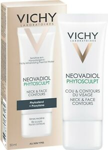 VICHY NEOVADIOL PHYTOSCULPT NECK AND FACE CONTOURS #50 ML #ALL SKIN TYPES #NEW