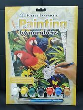 Painting By Numbers Exotic Parrots Birds By Royal & Langnickel