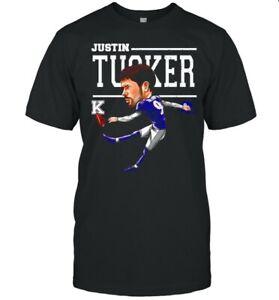 Baltimore Ravens Justin Tucker shirt Vintage Gift For Men Women Funny Black Tee