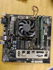 AMD FX8350 16GB DDR3 Gigabyte GA-78LMT 760G Chipset, onboard Radeon 3000, FAN