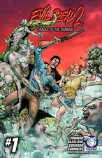 EVIL DEAD 2 CRADLE OF THE DAMNED #1 2016 Space Goat NM - Vault 35