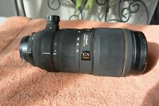 Great Sigma 70-200mm   f/2.8D APO HSM EX  lens for Nikon
