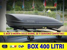 Box Baule Portatutto Chevrolet Matiz da tetto per auto nero universale 400 l in