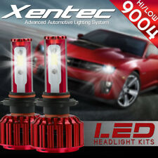XENTEC LED HID Headlight Conversion kit 9004 HB1 6000K for 1992-1994 Volvo 960