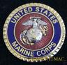 US MARINE SEAL LOGO EAGLE GLOBE ANCHOR HAT PIN MARINES EGA FMF USS MAW MAR DIV