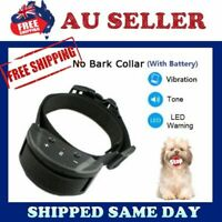 2018 New Auto VIBRATION Anti Stop Barking Dog Collar Safe Training NO SHOCKING