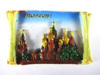 Moskau Russland Roter Platz Mockba,,Fridge Poly Magnet Souvenir (159)