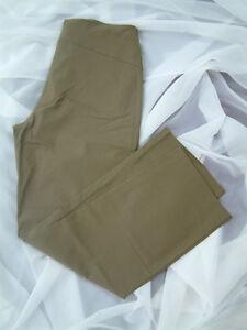 sheego Style SHAPE Schlupfhose Hose mit integrierter Miederhose Größe 48 Khaki