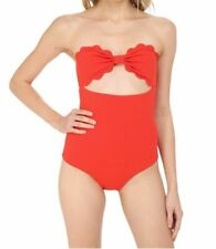 Marysia Womens Poppy Red Antibes Maillot One Piece Swimsuit Size Small
