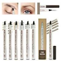 Pro Microblading Tattoo Eyebrow liquid Ink Pen waterproof fork pencil brow