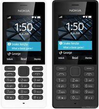 Nuevo Nokia 150 ** ** SIM doble desbloqueado Negro Genuino Barato último modelo de 2017