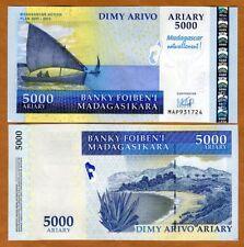 Madagascar, 5000 Ariary, 2007, P-94, UNC > Commemorative