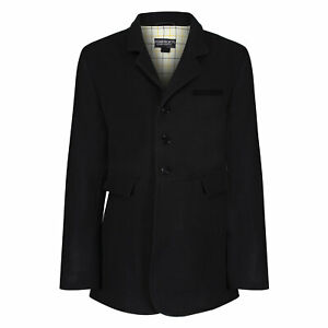 """Equetech Mens Frock Wool Hunt Coat 40-48"""" Chest - Wool Twill Hunting Jacket NEW"""