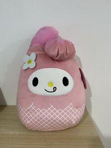 """My Melody Ice Cream Cone Squishmallow 12"""" Sanrio Plush BNWT RARE HTF!"""