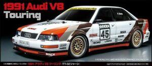 Tamiya 58682 Audi V8 Touring DTM 1991 TT-02 RC Kit Car *WITH* Tamiya ESC Unit