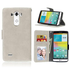 Photo ID Wallet Leather Flip Case Cover For LG G2 G3 G4 G5 L70 L90 LS770 C40 C70