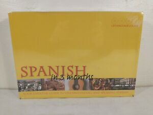 Learn Spanish In 3 Months CD Language Course by Covent Garden Books New In Box