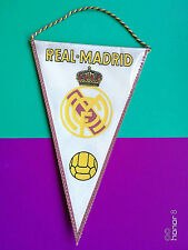 Real Madrid Football Club Espana Spain Rare Vintage Pennant (19.3x12)cm; 1975's