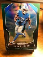 2019 Panni Prizm Kenny Golladay Green Refractor Parallel Detroit Lions