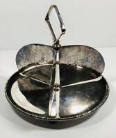 Vintage EPNS Hors d'oeuvres Bon Bon Dish A1 GB&S George Bowen & Son Silver Plate
