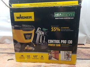 Wagner Control Pro 130 Power Tank Paint Sprayer Airless CLEANED & TESTED L1-1