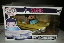 Funko POP Rides 03 - Scarface - Tony's Convertible (Tony Montana) PRE-OWNED