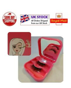 Magnetic Eyelash storage case with compact mirror 🇬🇧