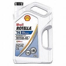 ROTELLA T4 15W40 HEAVY DUTY MOTOR OIL T 1 GALLON BOTTLE  - FAST FREE SHIPPING!