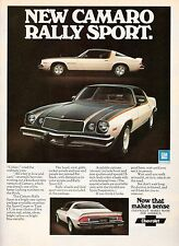 1976 CAMARO POSTER RALLY SPORT POSTER 24 x 36 INCH | FRAME IT!